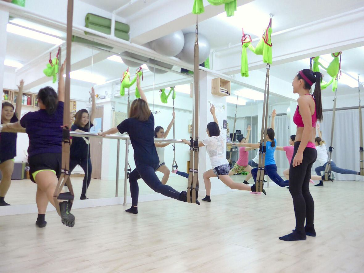 TRX trainer in Hong Kong at Positiv Wellness